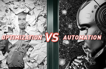 evolving optimization versus automation